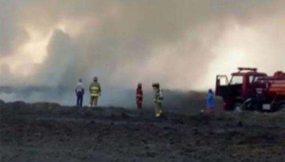 Los incendios forestales fueron controlados en Islay. (Foto: Agencia Andina)