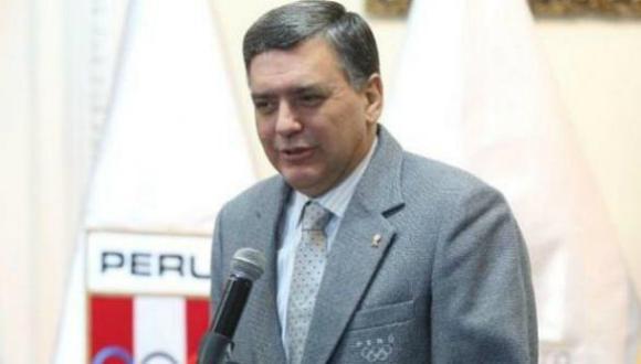 Presidente del Comité Olímpico Peruano (COP), José Carlos Quiñones Gonzales (Foto: USI)