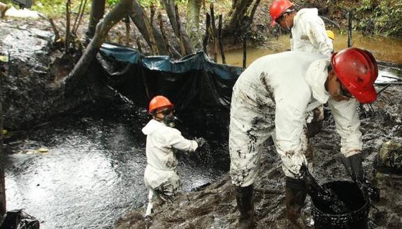 Derrame de petróleo en Oleoducto Norperuano en Amazonas se originó por un corte en la tubería. (USI/Referencial)