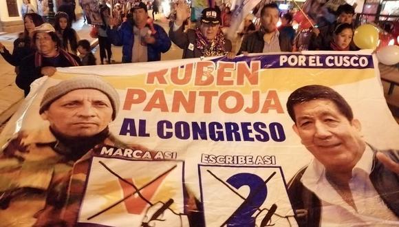 Desde el penal Ancón II, Antauro Humala pidió la sanción más drástica para el congresista Rubén Pantoja. Foto: Facebook del congresista de UPP