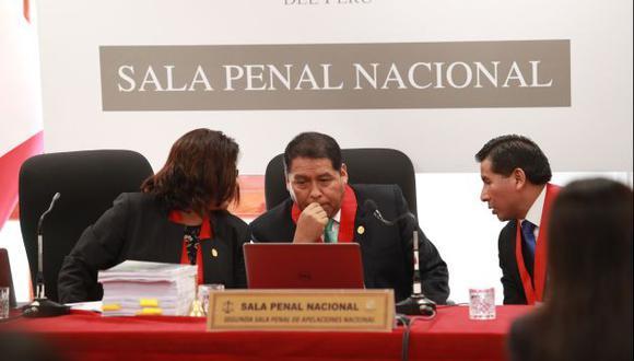 La sala presidida por César Sahuanay sacó al juez Richard Concepción del caso cocteles. (Perú21)