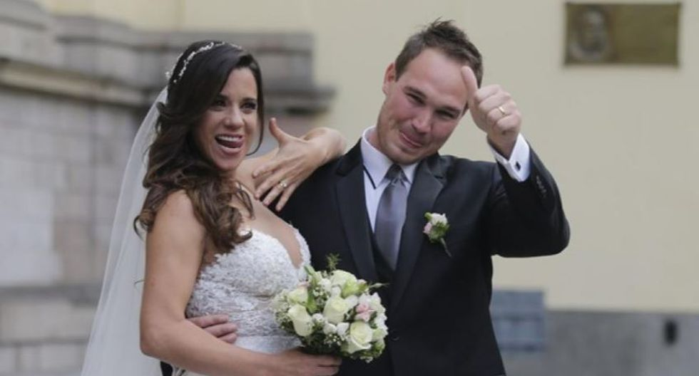 Vanessa y George se dieron el 'sí'. (Foto: Alonso Chero/El Comercio)