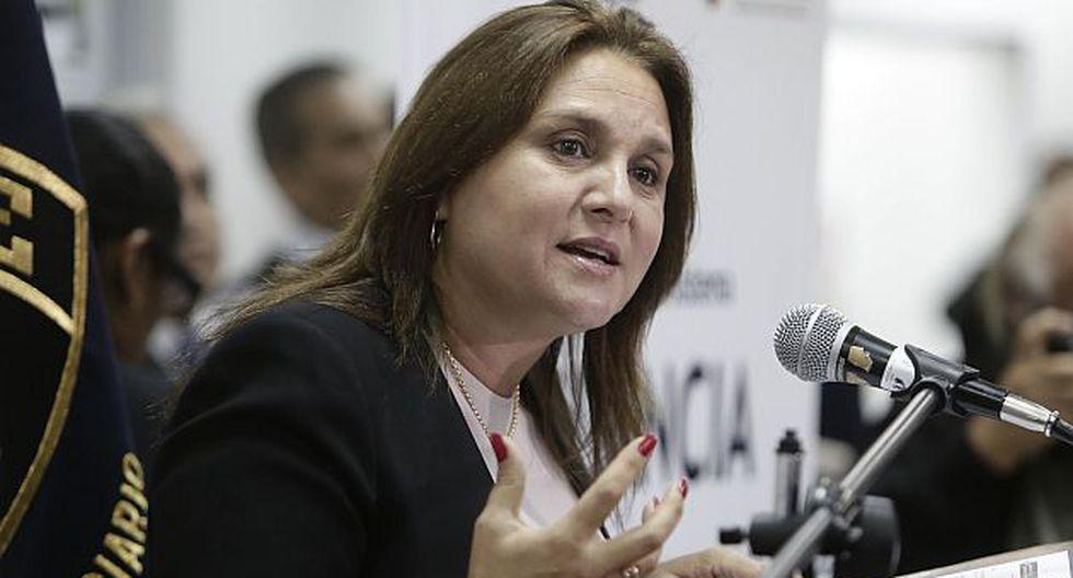 Ministra de Justicia anunciará hoy al nuevo procurador del caso Lava Jato. (César Campos)