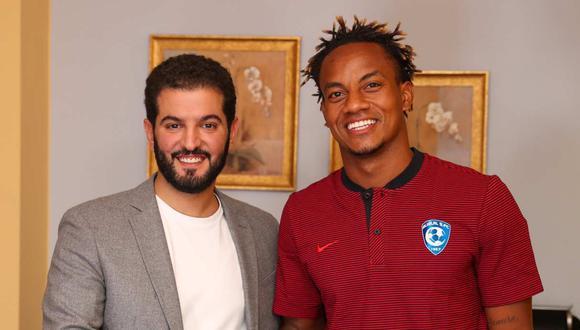 André Carrillo se quedará en el Al Hilal. (Foto: @Alhilal_EN)