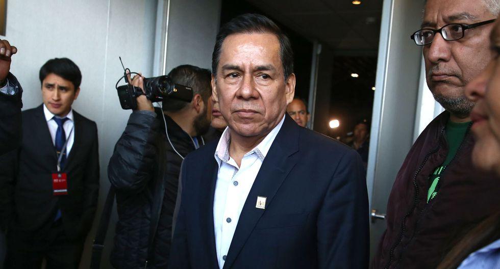 """Pese a sus mociones, Vega dice que su bloque no tiene una """"actitud confrontacional"""" con el Ejecutivo. (Foto: Andina)"""