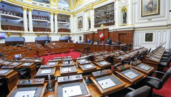 Pleno del Congreso continuará esta semana con el debate de la reforma constitucional sobre el retorno a la bicameralidad. (Foto: Congreso)