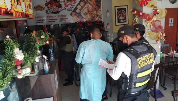 Tacna: clausuran restaurantes por no cumplir los protocolos de bioseguridad ante el COVID-19 (Foto: Municipalidad Alto de la Alianza)