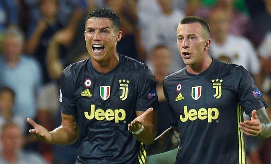 Cristiano Ronaldo podría recibir hasta tres partidos de castigo (Foto: AFP).