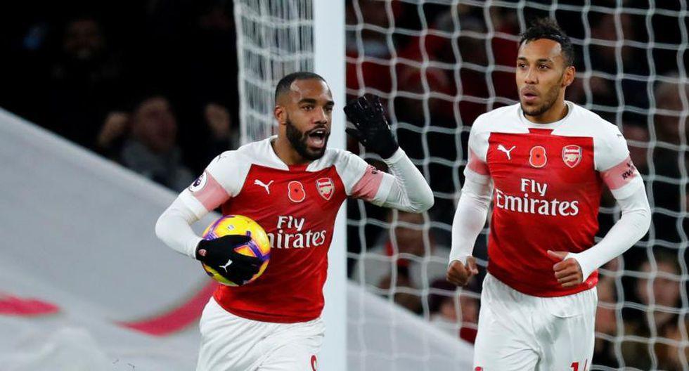 Arsenal vs. Bournemouth se miden por la fecha 13 de la Premier League. (Foto: Reuters)