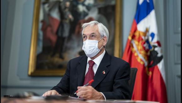 Sebastián Piñera promulgó reforma constitucional que permite el retiro anticipado del 10 % de los fondos de pensiones. (Foto: Prensa Presidencia de Chile, @presidencia_cl).