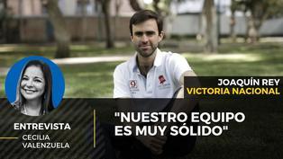 """Joaquín Rey: """"Nuestro equipo es muy sólido y nuestro Plan de Gobierno es muy notable"""""""