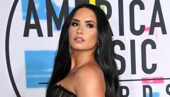 Demi Lovato se asoció con la organización Propeller para incentivar el voto en EE.UU. (Foto: AFP)