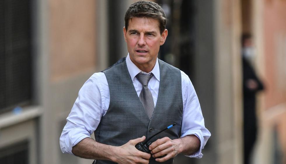 """Tom Cruise arrancó el rodaje de la séptima película de """"Misión Imposible"""" en Roma. (Foto: AFP/Alberto Pizzoli)"""