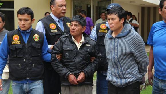 Joel Carbajal López (31) y Tomás Parimango Rojas (55) fueron capturados en su casa. (Randy Cardoso)