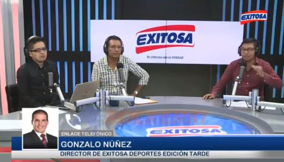 Gonzalo Núñez y Carlos Navarro sostuvieron un diálogo en Exitosa Deportes. (Exitosa)