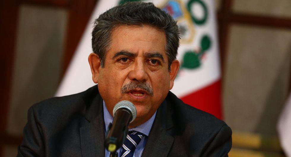 Manuel Merino de Lama es el candidato para presidir la Mesa Directiva de Acción Popular, APP, Somos Perú y Podemos Perú. (Foto: GEC)