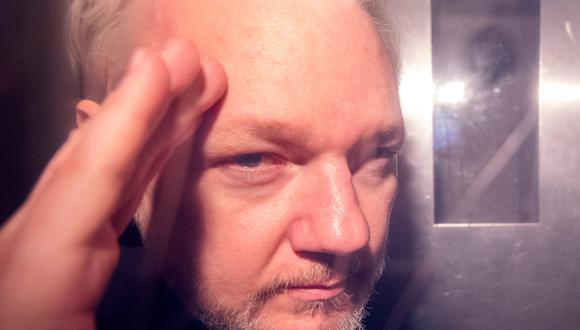 El fundador de Wikileaks estuvo refugiado siete años en la Embajada de Ecuador en Londres, desde 2012 hasta el pasado abril. (Foto: EFE)