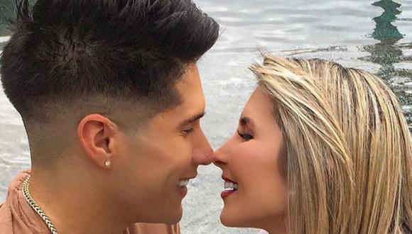 Chyno Miranda junto con su esposa, quien lo acompañó durante todo el proceso de recuperación (Foto: Chyno Miranda)