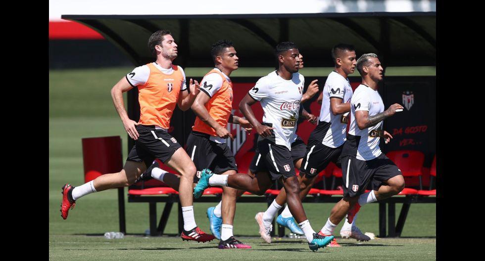 Las postales del entrenamiento de Perú a dos días de chocar con Ecuador. (Foto: FPF)
