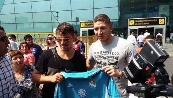Gabriel Costa y Santiago Silva llegaron a Lima para sumarse a Sporting Cristal. (Depor)