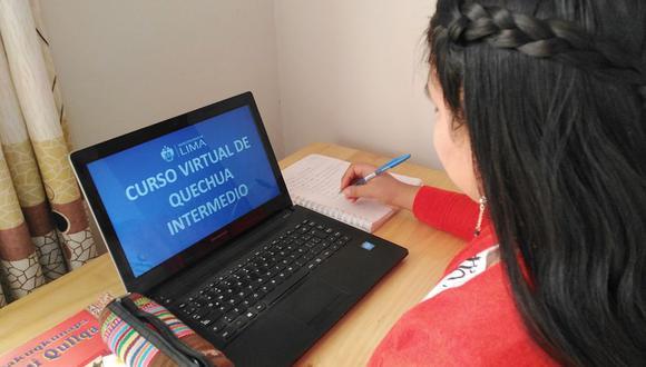 Las clases serán dictadas, nuevamente, por la profesora Yaritza Lagos y se transmitirán en vivo a través de las redes sociales del municipio capitalino. (Foto: Municipalidad de Lima)