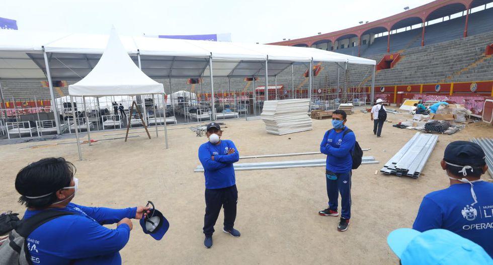 Las instalaciones albergarán a un total de 150 personas, anunció el alcalde de Lima Jorge Muñoz. (Fotos: Gonzalo Córdova/GEC)