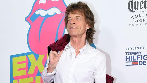 Nombre del hijo de Mick Jagger no ha sido revelado. (AFP)