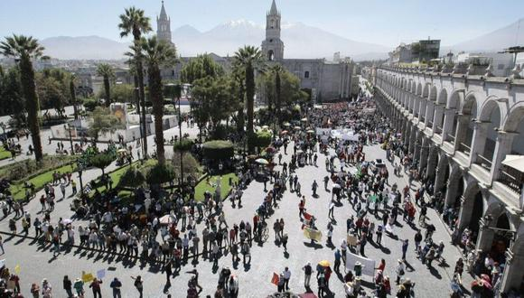 Este jueves, Arequipa celebra su aniversario número 479. (Foto: GEC)