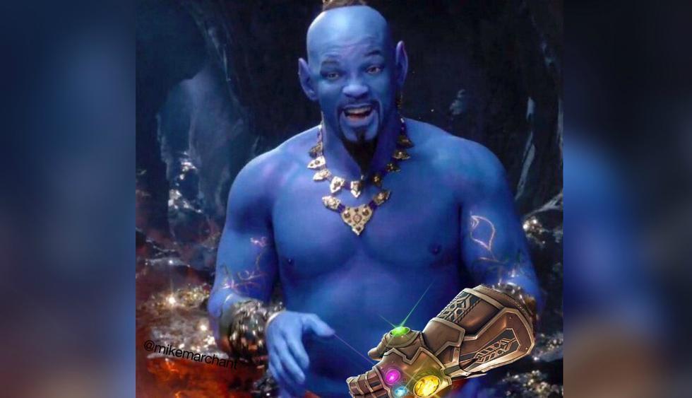 Will Smith indica que se siente honrado de ser el Genio. (Foto: Facebook)