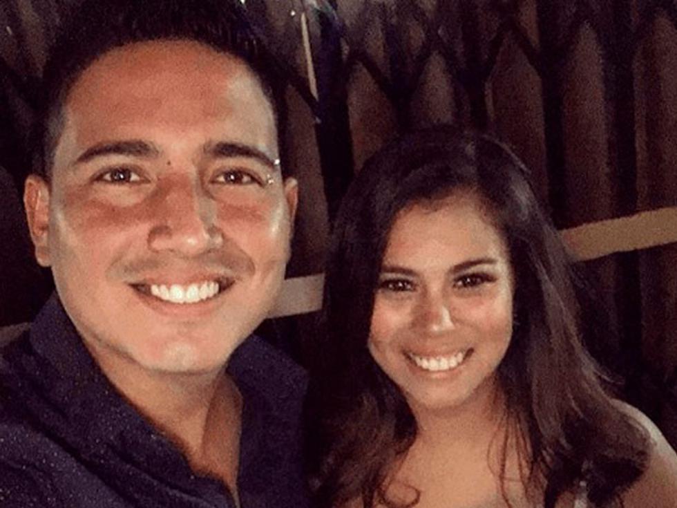 Pareja de Pedro Loli realizó tierna sesión de fotos de su embarazo. (Instagram)