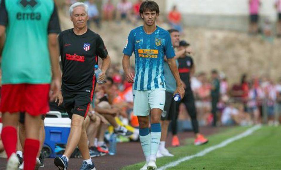 Joao Félix fue fichado por Atlético de Madrid a cambio de 126 millones de euros. (Foto: EFE)