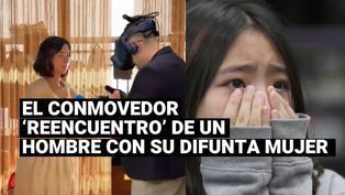 Un hombre se 'encontró' con su difunta esposa a través de la realidad virtual