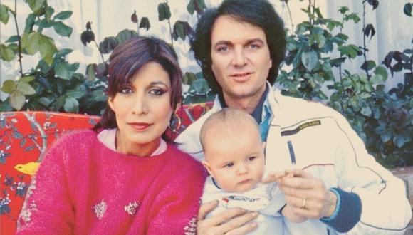 Camilo Sesto y su hijo (Foto: Instagram)