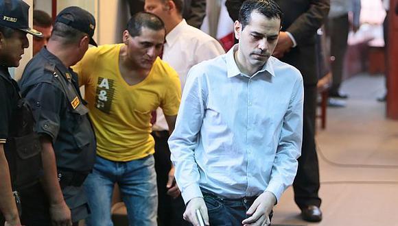 David Sánchez-Manrique fue condenado a 35 años de cárcel por el asesinato de Walter Oyarce. (Andina)