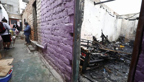 Las familias lo perdieron todo tras el voraz incendio. (Foto:GEC)