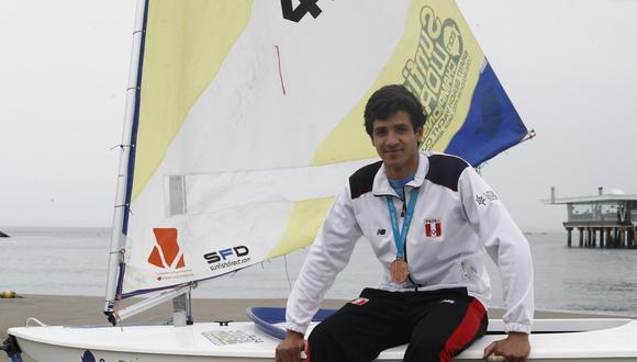 Conversamos con el deportista Renzo Sanguinetti. (Perú21/ César Campos)