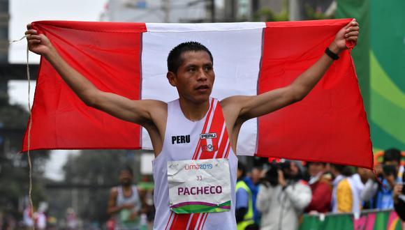 """Cristhian Pacheco: """"Voy a entregar todo por el Perú en Tokio 2020"""" (AFP)"""