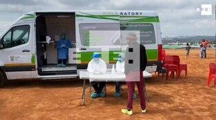 Coronavirus en Sudáfrica: más de medio millón de contagios y 8 mil muertes