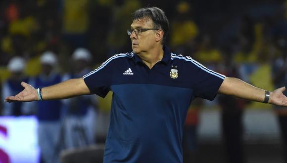 Gerardo Martino dirigió dos años a la selección de Argentina (Foto: AFP).
