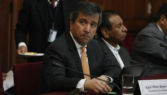 Raúl Pérez-Reyes hizo el pronunciamiento. (Difusion)
