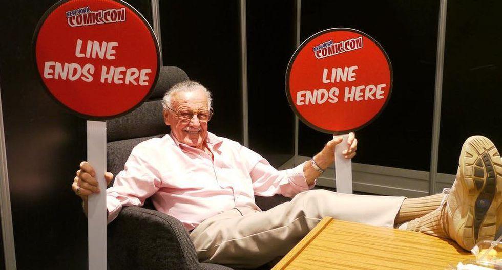 Stan Lee falleció este lunes 12 de noviembre a los 95 años. (Foto: @therealstanlee)