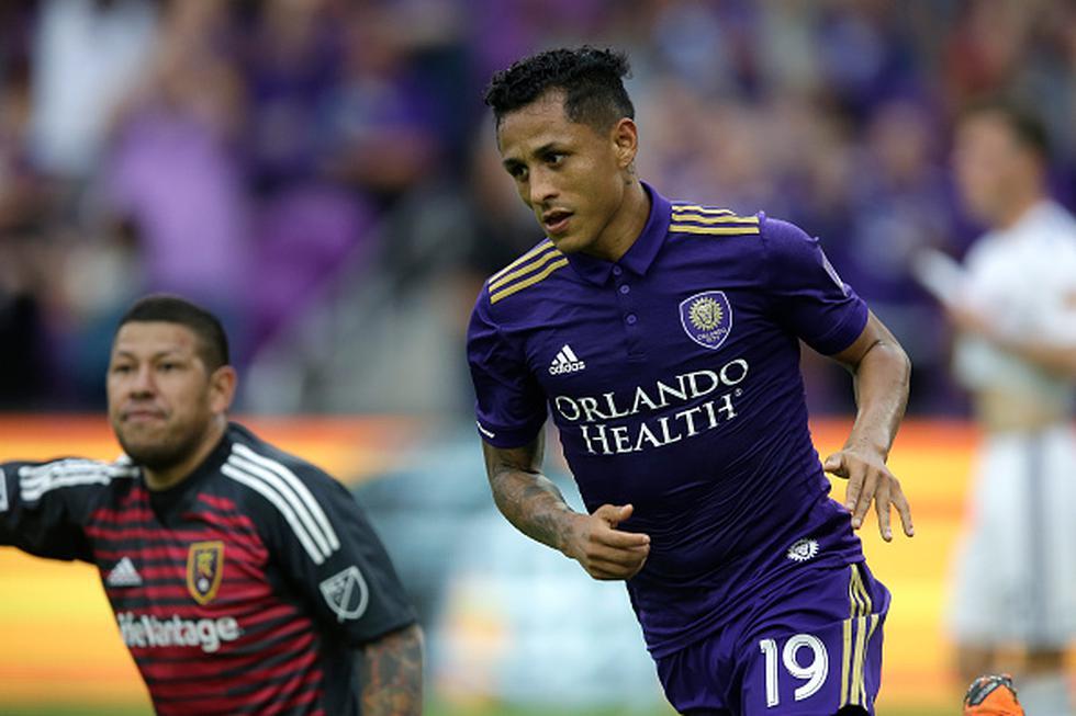 Yoshimar Yotún brindó una asistencia y anotó de penal para la victoria de Orlando City sobre Real Salt Lake. (GETTY IMAGES)