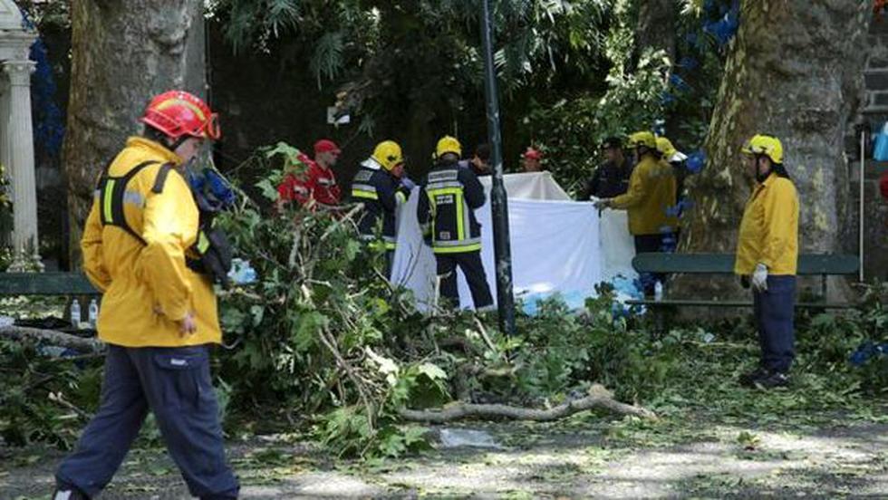 Un bebé de 12 meses y dos mujeres extranjeras están entre los fallecidos (EFE)