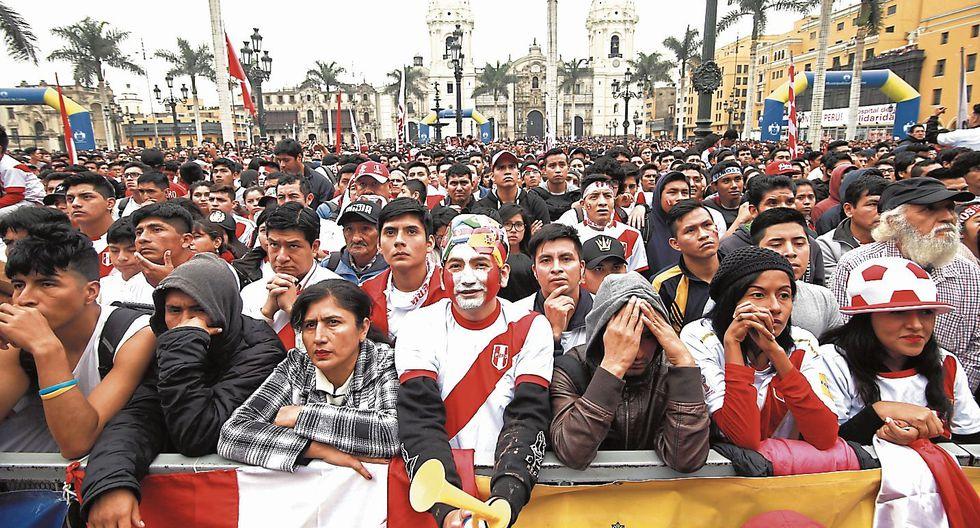contigo, perú. Los más de 33 millones de peruanos alentaremos hoy a nuestros guerreros. (USI)