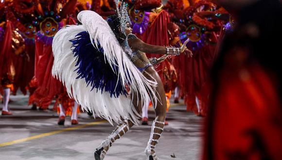 El carnaval en Sao Paulo, Brasil. (Foto: AFP)