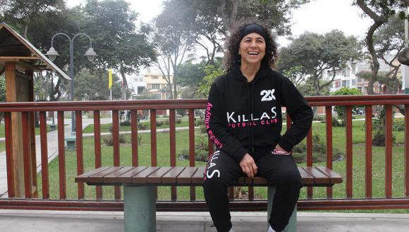 Soraya Taravay es la delantera de Killas FC. (Foto: Karla M. Solis / @karliclic).