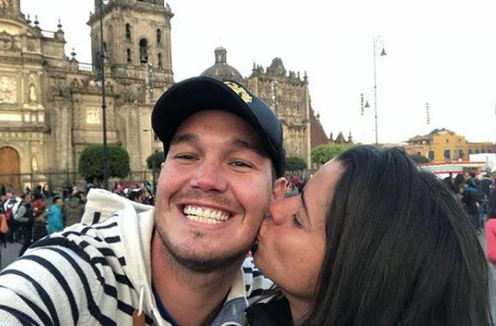 El ex futbolista y la actriz se lucen juntos en redes sociales. (Instagram/@george.forsyth)