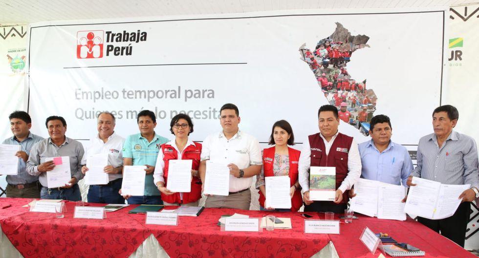 La ministra Sylvia Cáceres también inauguró la Intendencia Regional de Madre de Dios. (Foto: MTPE)