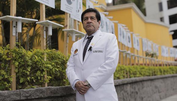 El decano del CMP, Miguel Palacios. (Foto: El Comercio)