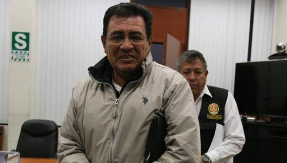 Gutiérrez está en prisión debido a un audio en el que se oye una conversación entre él y Gómez Urquizo. (Difusión)